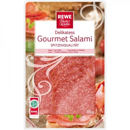 Delikatess-Gourmet-Salami, Juli 2017