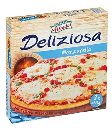 Steinofenpizza, 2 x Mozzarella, Juni 2017