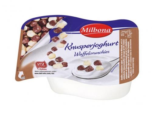 2-Kammer Knusperjoghurt Waffelcrunchies, Oktober 2017