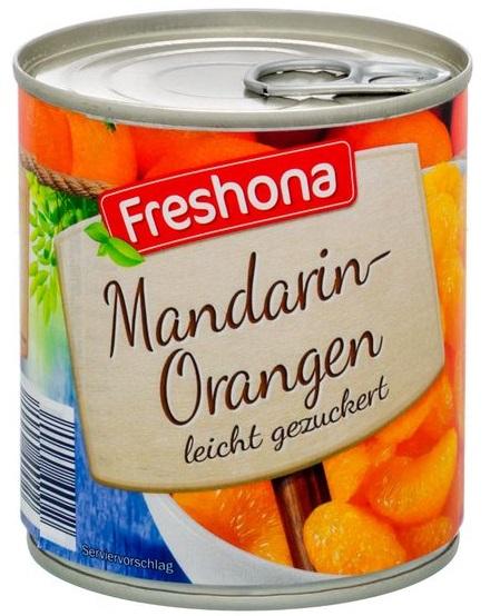 Mandarin-Orangen, Juni 2017