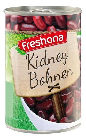 Rote Kidney-Bohnen, Juni 2017