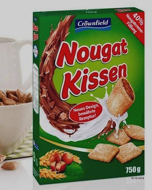 Nougat Kissen, Dezember 2014