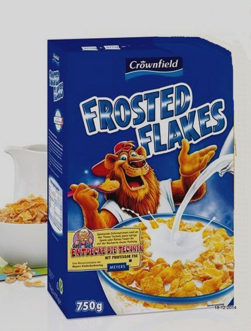 Frosted Flakes, Dezember 2014