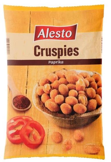 Erdnüsse im Teigmantel mit Paprika, Juli 2017