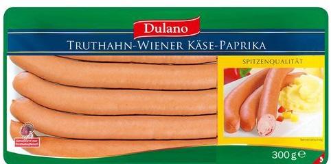 Truthahn-Wiener Käse-Paprika, Juni 2017