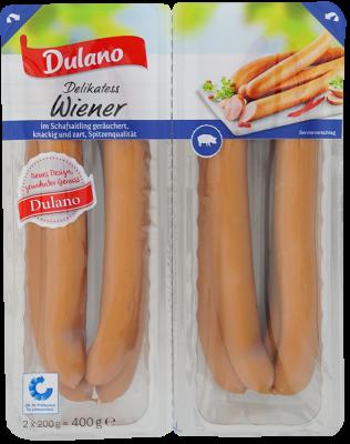 Delikatess Wiener Würstchen, September 2017