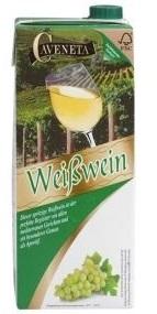 Caveneta Weißwein, Juli 2017